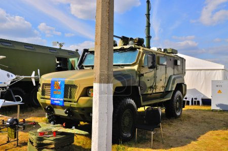 MOSCOW RUSSIA AUG 2015 Reconnaissance