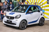 FRANKFURT - SEPT 2015: smart fortwo presented at IAA Internation