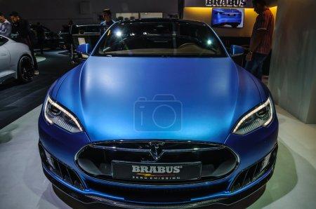 FRANKFURT SEPT 2015 Tesla Model