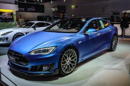Франкфуртская модель сентября 2015 Тесла