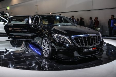 Франкфурте в сентябре 2015 Брабус MercedesMaybach