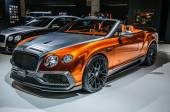 FRANKFURT - SEPT 2015: Mansory Bentley Continental GTC presented