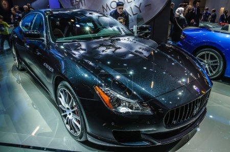 Во Франкфурте сентябрь 2015 года на Maserati Quattroporte в
