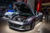 FRANKFURT - SEPT 2015: Ferrari California T presented at IAA Int