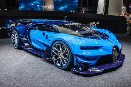 Франкфурте сентябрь 2015 года Bugatti Хирон