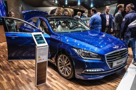 FRANKFURT SEPT 2015 Hyundai Genesis