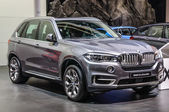 FRANKFURT - SEPT 2015: BMW X5 xDrive30d presented at IAA Interna