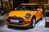 FRANKFURT - SEPT 2015: Mini Cooper 3 Door presented at IAA Inter