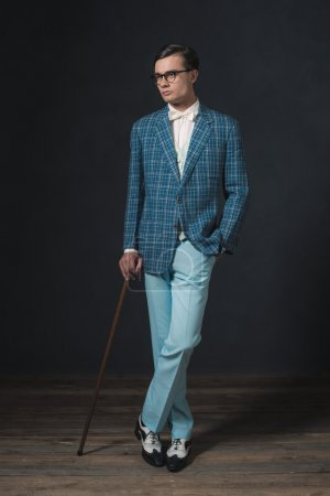 Retro 1920s fashion man