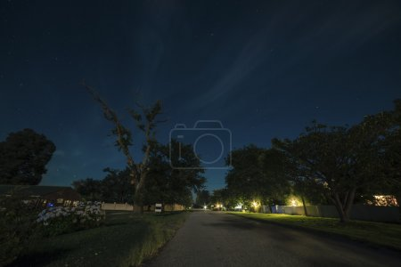 Photo pour Village de Storms River la nuit. Cape Orientale. Afrique du Sud . - image libre de droit