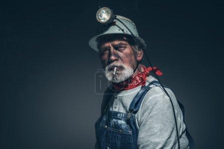 Male Mining Worker