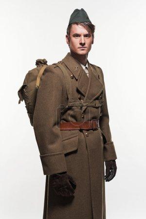 Paratrooper military uniform fashion man