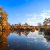 autumn landscape with Southern Bug river