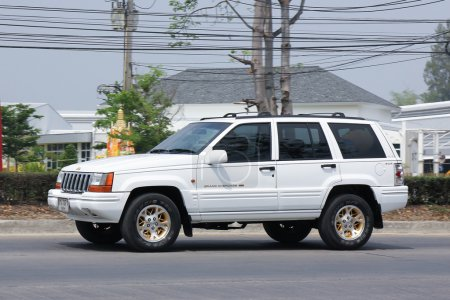 Poster: Private jeep Grand Cherokee car