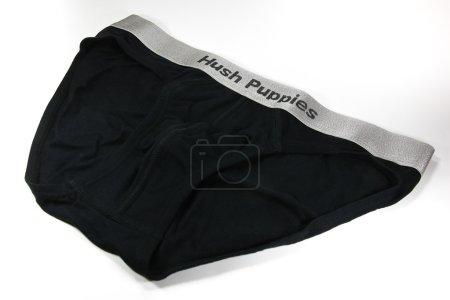 Hush Puppies Innerwear, Black Brief Underwear from Micro Modal.