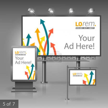 Outdoor advertising design