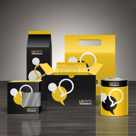 Corporate identity and package design