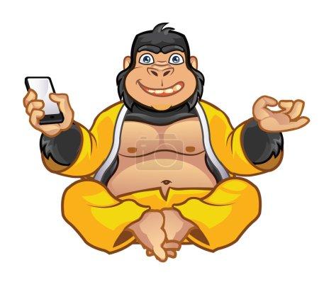 Fat Gorilla Zen Master
