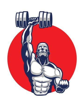 Body Builder Logo Icon