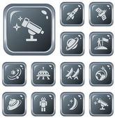 Space button set