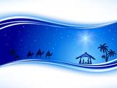 Karácsonyi csillag háttér