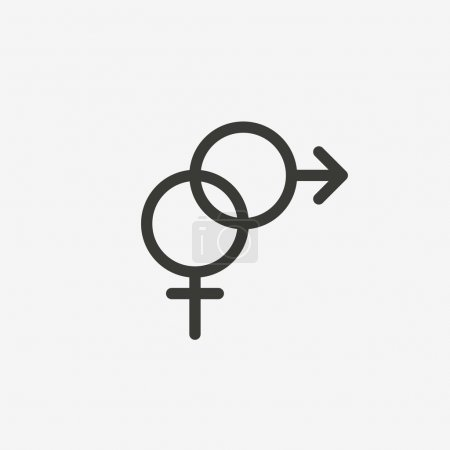 twisted sex symbol icon
