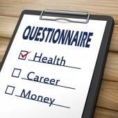 questionnaire clipboard image