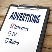 advertising clipboard illustration