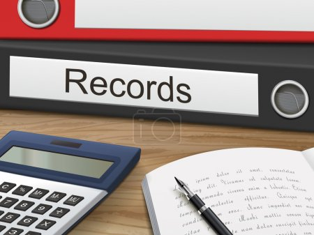 Records on binders