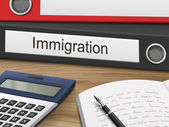 immigration on binders