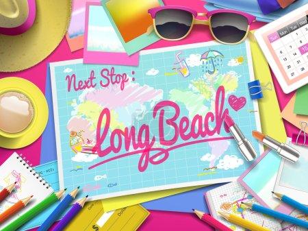 Long Beach on map