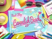 Cavendish Beach on map