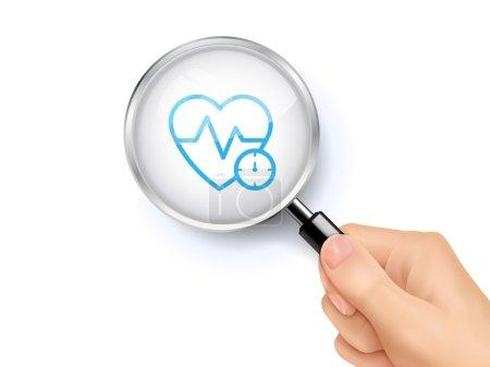Cardiogram icon sign