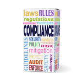 compliance word on product box