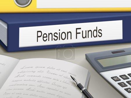 pension funds binders