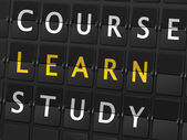 Course learn study words
