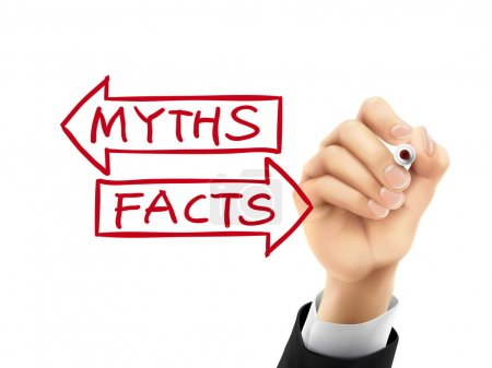 myths or facts written by 3d hand