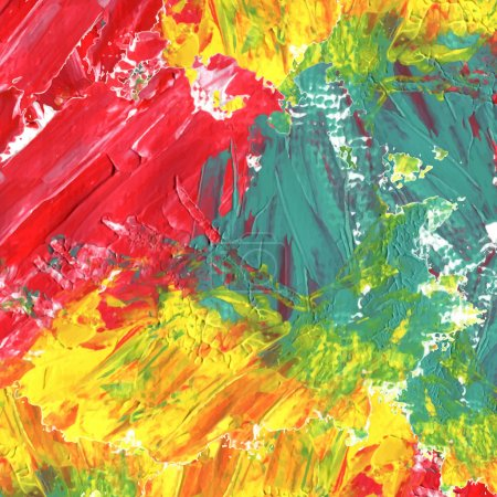 abstract colorful acrylic painted background