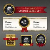 gorgeous premium quality golden labels collection