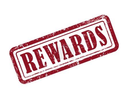 stamp rewards in red