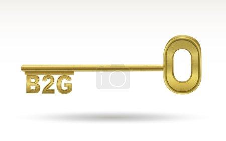 B2G - golden key