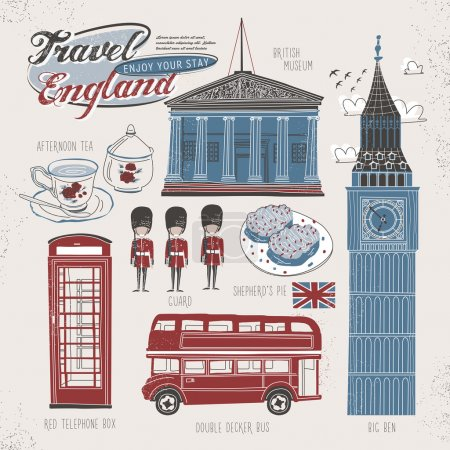 travel concept of England