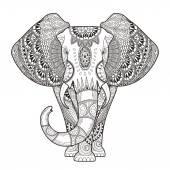 """Постер, картина, фотообои """"изящные слон"""""""