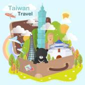 Taiwan attractions design