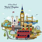 United Kingdom travel concept