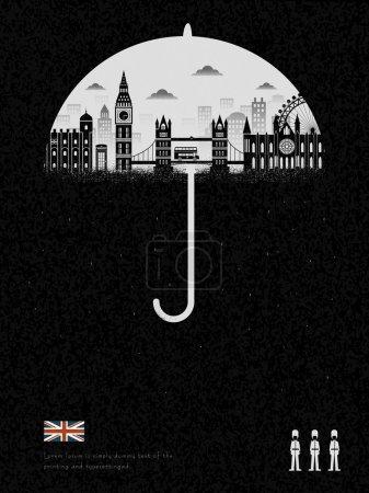 United Kingdom impression - raining all day