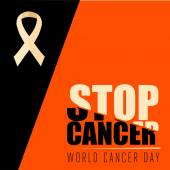 Stop Cancer message poster