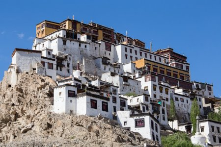 Thiksey Buddhist Monastery in Ladakh, India