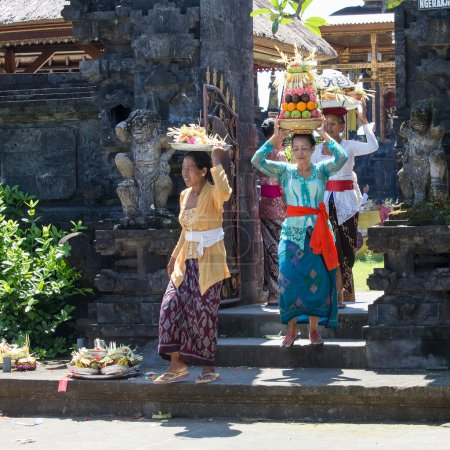 Indonesian people celebrate Balinese New Year and the arrival of spring.