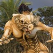 Постер, плакат: Balinese ogoh ogoh monster at Balinese New Year Indonesia